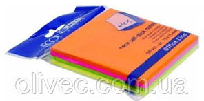 """Бумага для заметок с клейким слоем """"Economix"""" 75х75 мм. 100 листов"""
