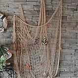 Сетка для декоративного ограждения, декор помещения