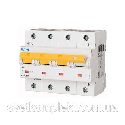Автоматический выключатель PLHT-B25/3N (248051) Eaton 25A 3Np 15kA, фото 2