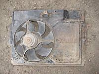 Мотор электродвигатель вентилятор радиатора + диффузор Форд Ескорт Ford Escort