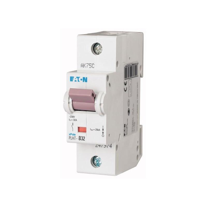 Автоматичний вимикач PLHT-C32 (247983) Eaton 32A 1P 20kA
