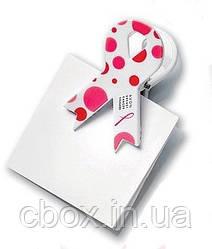 "Зажим-магнит для бумаги ""Розовая лента"", Эйвон, Avon,11685"