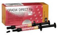 Gradia Direct Flo , Градия директ флоу , светоотверждаемый текучий гибридный композит , GC ( А2 , А3 )