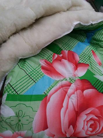 Теплое шерстяное одеяло двухспальное, фото 2