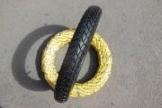 Мотоциклетні шини 2.75-17 жовта полушип (п+к)