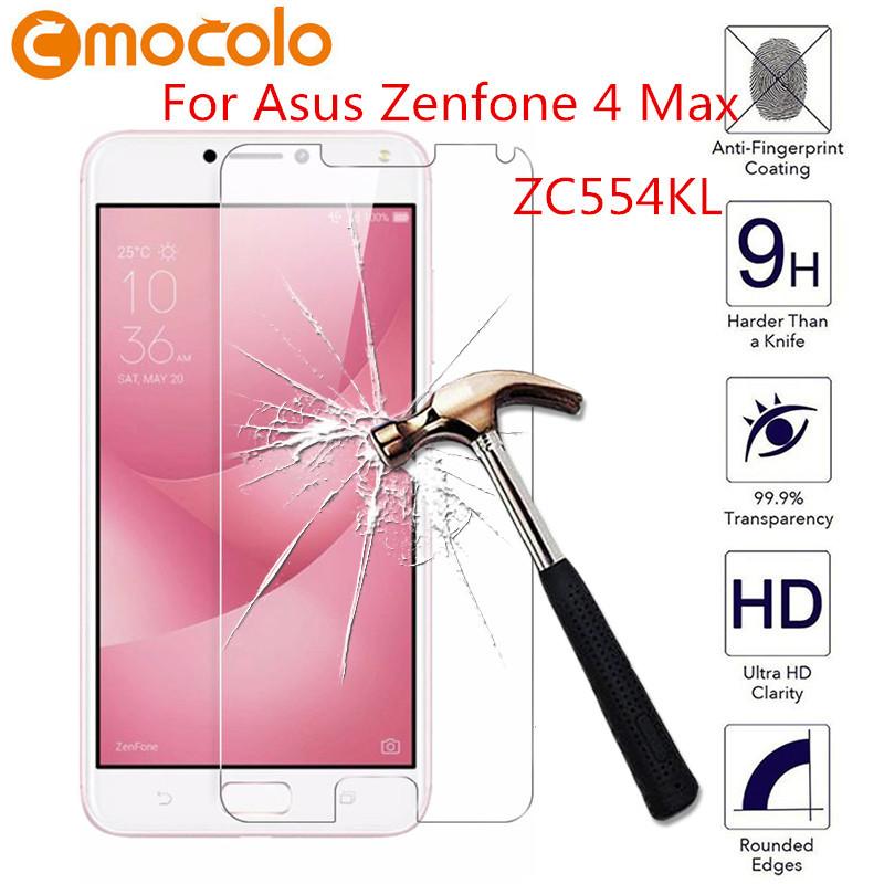 Защитное стекло Mocolo 2.5D 9H для Asus Zenfone 4 MAX ZC554KL