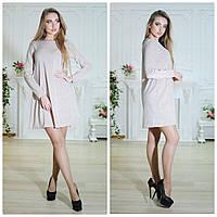 Платье из ткани с люрексом, 3 цвета арт 2519-430