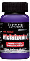 Витамины и Минералы Ultimate Nutrition Melatonin 100% Premium (60 caps)