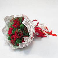 Букет из конфет Розы 17 Крафт