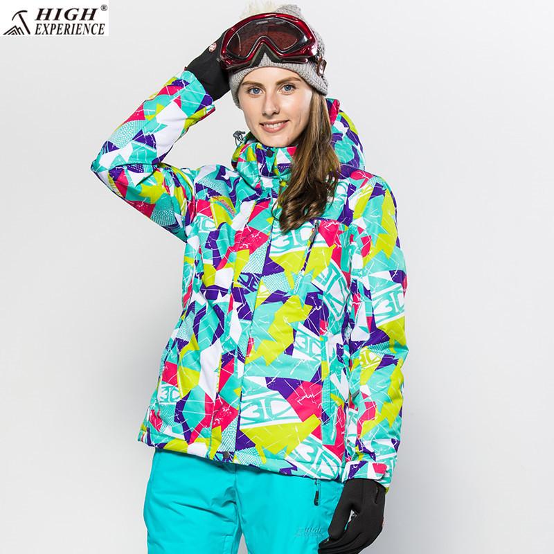Горнолыжная зимняя женская куртка High Experience