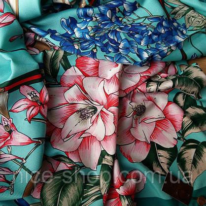 Платок Gucci шелк, фото 3