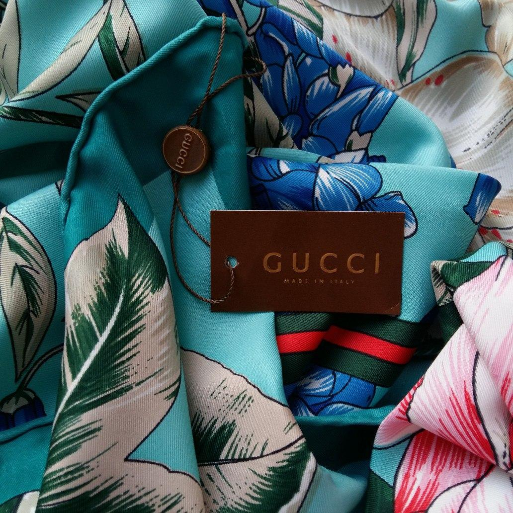 Платок Gucci шелк