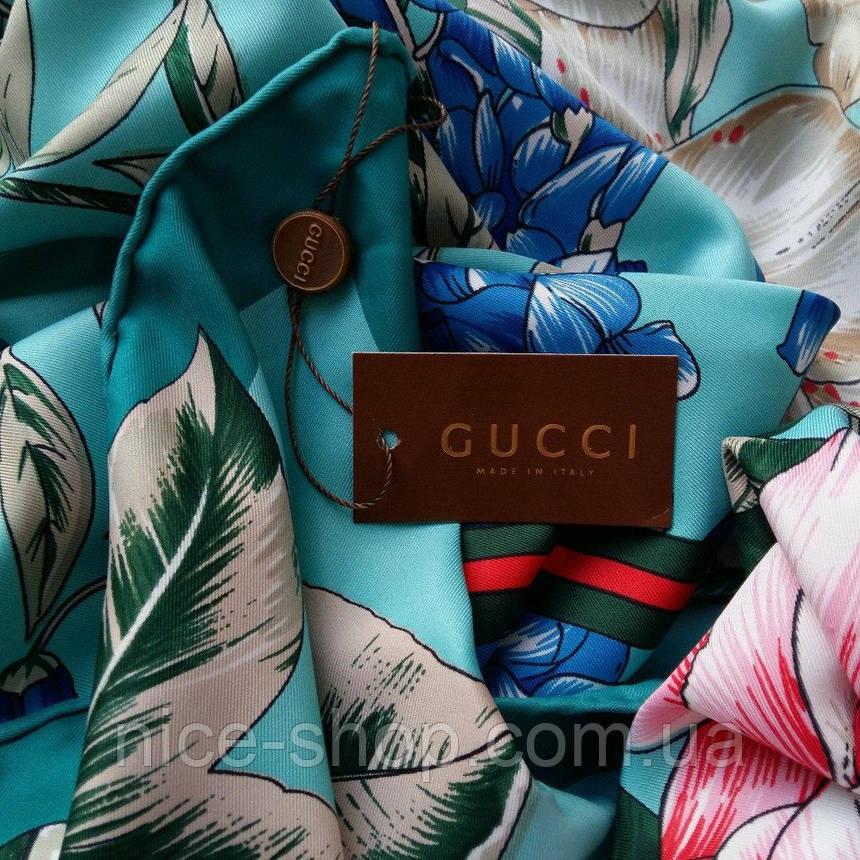 Платок Gucci шелк, фото 2