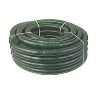 Шланг напорно-всасывающий, спиральный (зеленый), 40 мм