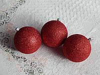 Шары для новогодней елки 8см, фото 1