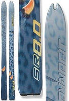 Лыжи скитур Dynafit SKI RUNNING SR 8.0 ice blue/yellow 160