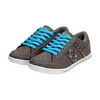 02-20 Серые женские кроссовки LXC-6331 DK.GREY piwnica