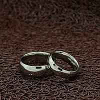 """Парные кольца """"Твое прикосновение"""" [жен. 15.9 16.5 17.3 18.2 19.0 муж. 17.3 18.2 19.0 20.0 размеры в наличии]"""