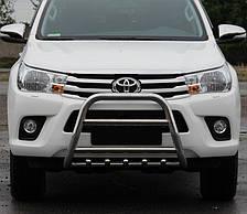 Кенгурятник на Toyota Hilux (c 2015---) Тойота Хайлюкс