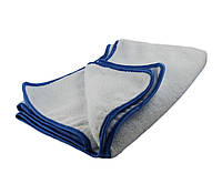 40520 Полотенце супер плюшевое для сушки, бело-синее - DRYING SUPER