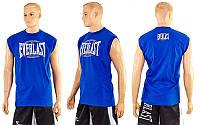 Футболка без рукавов ELAST CO-3766-3 синий