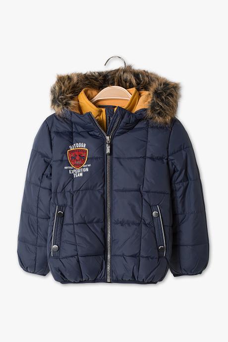 Теплая зимняя куртка на мальчика 2 года C&A Германия Размер 92