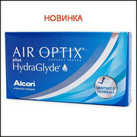 Контактные линзы AIR OPTIX plus HYDRAGLYDE