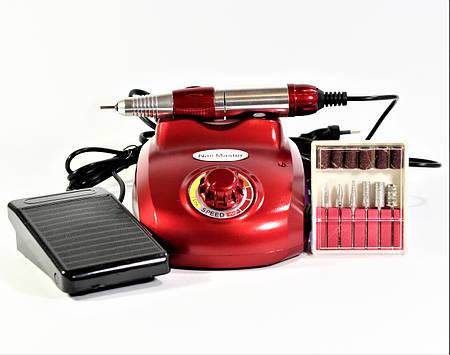 ZS-603 Фрезер для маникюра и педикюра 15W/25000 об. (красный)