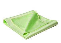 40528 Полотенце микрофибровое для стекла 55х63 см, зеленое - Flexipads GLASS CARE