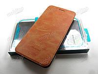 Кожаный чехол книжка MOFI Vintage OnePlus 5 (коричневый), фото 1