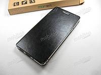 Кожаный чехол книжка MOFI Nokia 3 (черный), фото 1