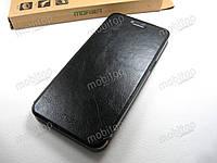 Кожаный чехол книжка MOFI OnePlus 5 (черный), фото 1