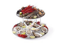 Этажерка 2-х ярусная для морепродуктов, 480519 Hendi