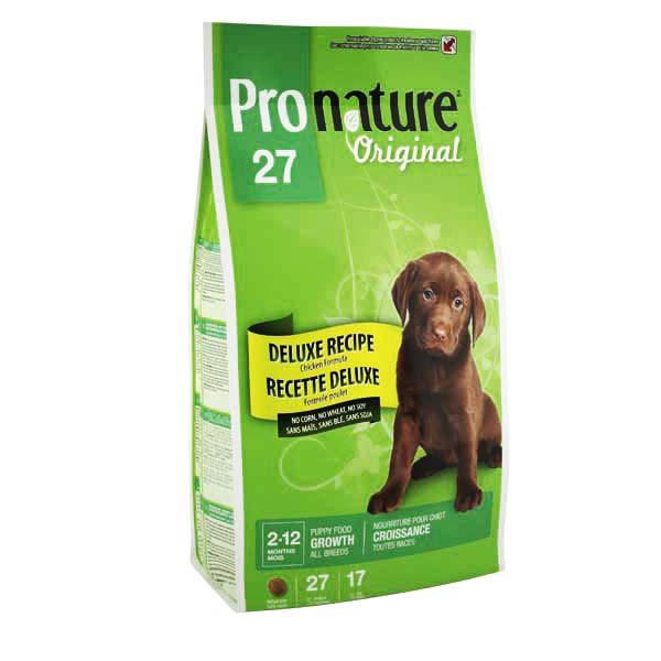 Pronature Original (Пронатюр Ориджинал) ДЕЛЮКС ЩЕНОК сухой супер премиум корм для щенков 7,5кг