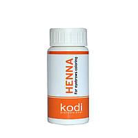 K080 Kodi Хна черная для окрашивания бровей 10 гр