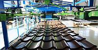 Металлочерепица бронза  глянец 0,45 мм Корея