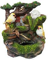Фонтан домик с птичками