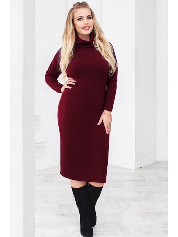 b10926c454eb578 Теплое трикотажное платье