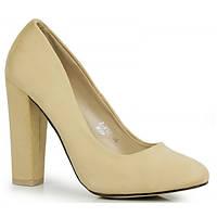 11-09 Бежевые женские туфли NZC-140531 41,40,39