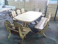 Комплект садовой мебели из ясеня, дуба