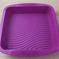Форма для выпечки силиконовая квадрат торт  22 см