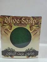 Натуральное оливковое мыло 180-200 г. , фото 1