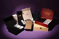 Элитный подарочный набор мужских носков в картонной коробке на 30 пар. Цвет - чёрный