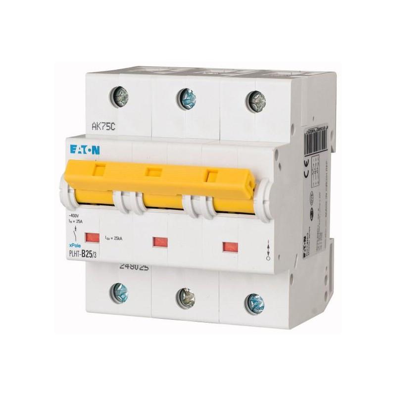 Автоматический выключатель PLHT-C25/3 (248034) Eaton 25A 3P 20kA