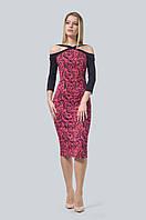 Оригинальное платье приталенного силуэта, выполненное из высококачественного и приятного материала (джерси)