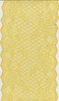 Кружево стрейч 17см 1182-15 желтый