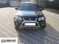 Кенгурятник Honda CRV 1996-2001 (WT003 нерж)
