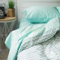 Комплект постельного белья № PF012 поплин Хлопковые Традиции ЕВРО