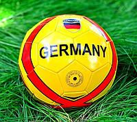 Футбольный мяч ПВХ для детей Германия желтый