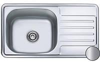 Кухонная мойка MILANA SATIN,  760 х 420 мм, Бесплатная Доставка
